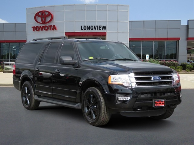 Ford Expedition El >> Pre Owned 2017 Ford Expedition El Xlt 4d Sport Utility In Longview