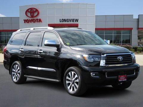 Certified Pre-Owned 2018 Toyota Sequoia Limited